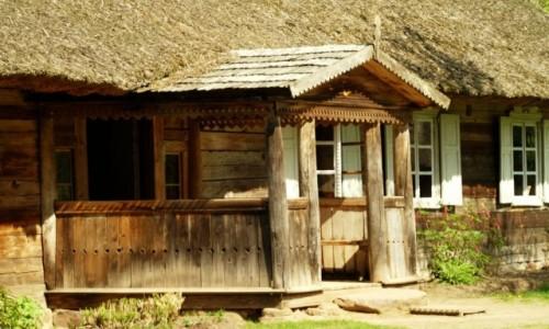 LITWA / okolice Kowna / Rumszyszki / skansen wsi litewskiej