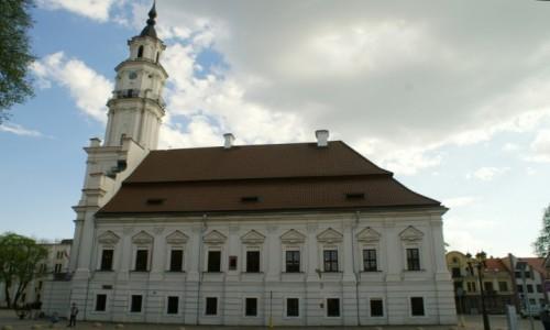 Zdjęcie LITWA / Kowno / Kowno / ratusz