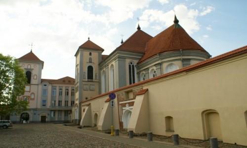 Zdjęcie LITWA / Kowno / Kowno / kościół  św. Trójcy