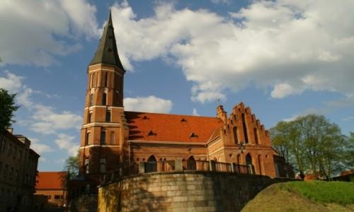Zdjęcie LITWA / Kowno / Kowno / kościół  Witolda