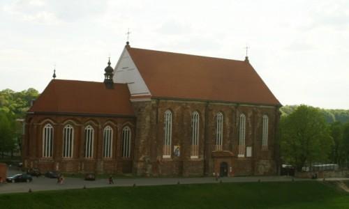 Zdjęcie LITWA / Kowno / Kowno / kościół  św. Jerzego