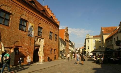 Zdjęcie LITWA / Kowno / Kowno / ulice Kowna