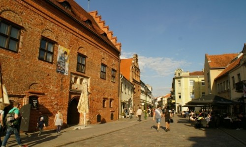 Zdjecie LITWA / Kowno / Kowno / ulice Kowna