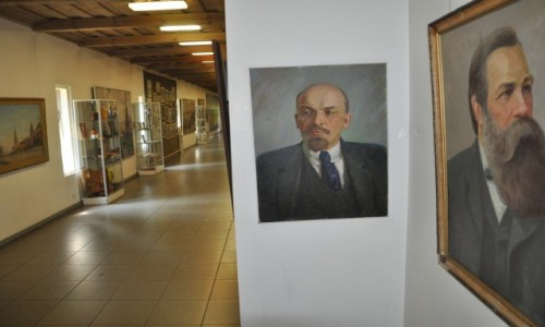 Zdjecie LITWA / Druskininkai / Grūto Parkas Druskininkai / Lenin wiecznie