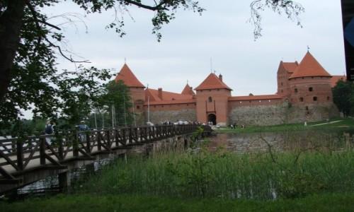 Zdjecie LITWA / Dzukia / Troki / Zamek w Trokach