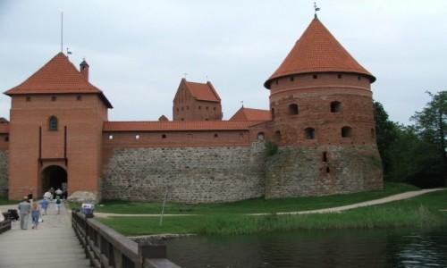 Zdjecie LITWA / Dzukia / Troki / Witoldowy zamek