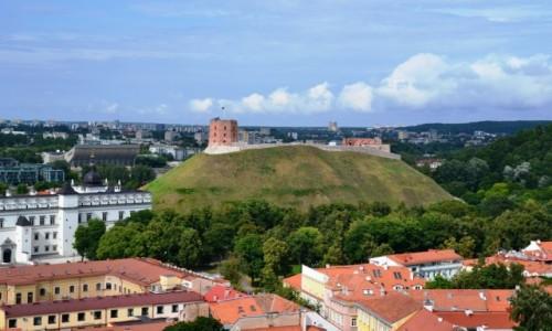 LITWA / Wileński / Wilno / Góra zamkowa