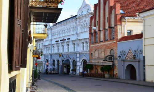 LITWA / Wileński / Wilno / Na ulicach starego miasta
