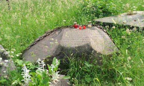 Zdjecie LITWA / - / Wilno, Cmentarz na Rossie / Grób ojczyma Juliusza Słowackiego