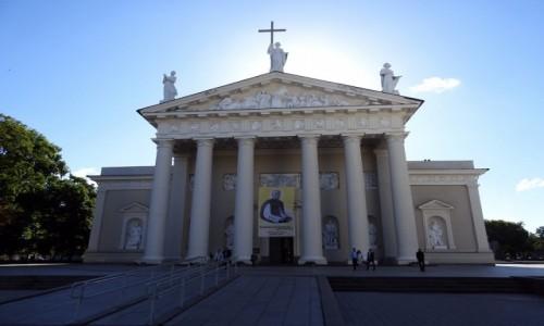Zdjecie LITWA / Wilno / Wilno / Katedra