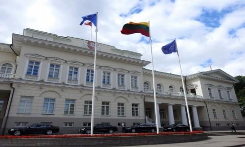 Zdjęcie LITWA / Wilno / Wilno / Pałac prezydencki