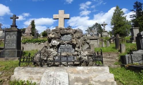 Zdjęcie LITWA / Wilno / Rossa / Cmentarz