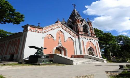 Zdjęcie LITWA / Wilno / Rossa / Na cmentarzu