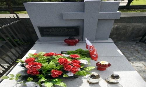 Zdjęcie LITWA / Wilno / Rossa / Grób brata Marszałka Piłsudskiego
