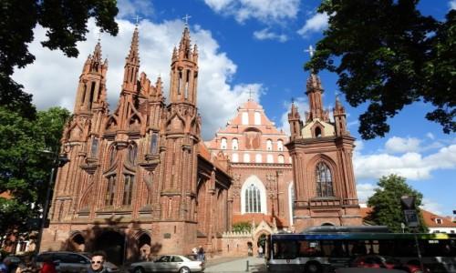 Zdjęcie LITWA / Wilno / Wilno / Kościół ś. Anny