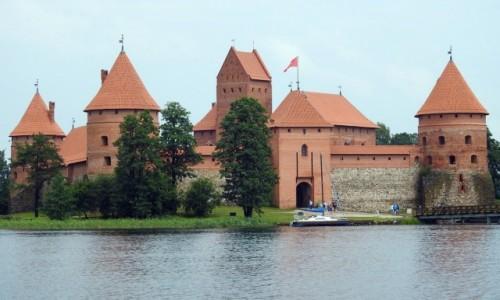 Zdjecie LITWA / Wilno / Troki / Zamek