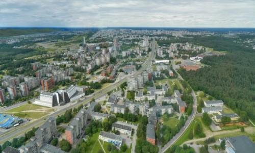 Zdjecie LITWA / Wilno. / Wilno. / Panorama - Wilno z wieży telewizyjnej.