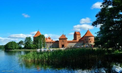 Zdjecie LITWA / Jezioro Galwe. / Troki. / Troki - Zamek
