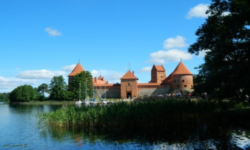 LITWA / Wilno. / Troki. / Zamek w Trokach.