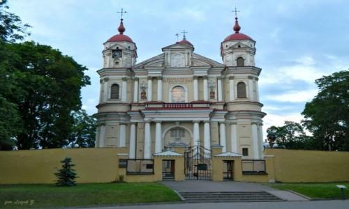LITWA / Wilno. / Wilno / Wilno - kościół św. św. Piotra i Pawła.
