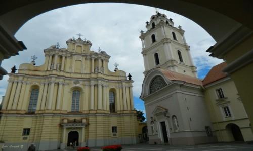 Zdjecie LITWA / Wilno. / Wilno / Wilno - kościół św. św. Jana Chrzciciela i Jana Ewangelisty.
