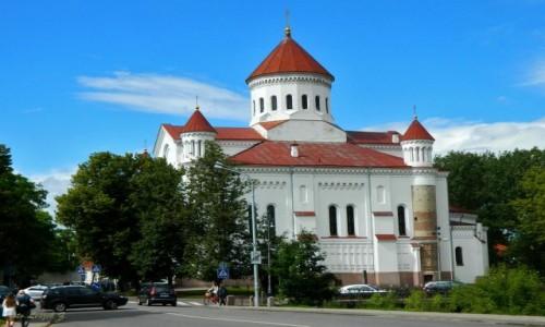 Zdjęcie LITWA / Wilno. / Wilno / Wilno - Cerkiew Przeczystej Bogurodzicy.