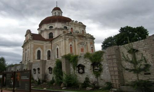 Zdjecie LITWA / Wilno. / Wilno / Wilno - kościół Serca Jezusowego.