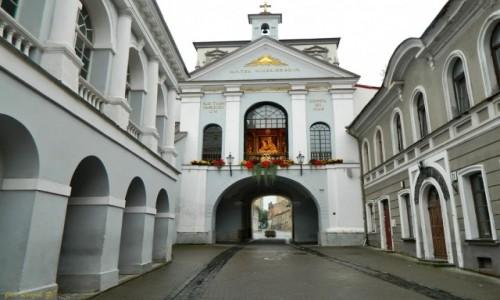 Zdjęcie LITWA / Wilno. / Wilno / Wilno - Ostra Brama.