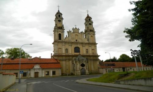 Zdjecie LITWA / Wilno. / Wilno / Wilno - Kościół Wniebowstąpienia Pańskiego.