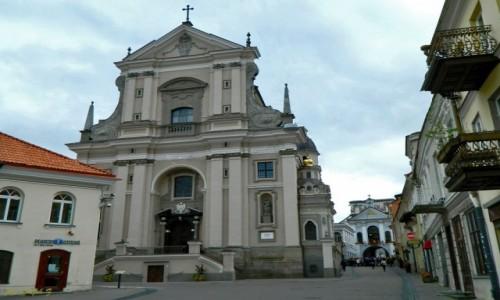 Zdjecie LITWA / Wilno. / Wilno / Wilno - Kościół św. Teresy.
