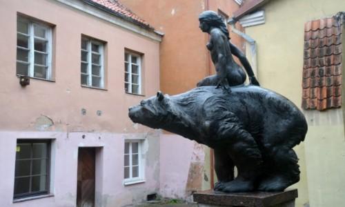 Zdjecie LITWA / Stolica / Wilno / Lokis i dziewica?