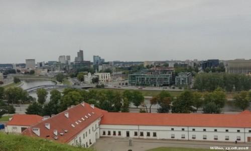 Zdjecie LITWA / okręg wileński / Wilno / Widok z góry zamkowej