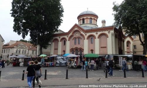 Zdjecie LITWA / okręg wileński / Wilno / Cerkiew Piątnicka