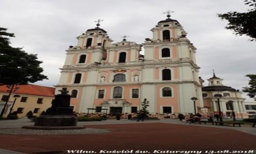 Zdjecie LITWA / okręg wileński / Wilno / Kościół św. Katarzyny