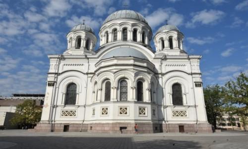 Zdjęcie LITWA / Nizina Środkowolitewska / Kowno / Kowno, cerkiew św. Michała, dziś kościół
