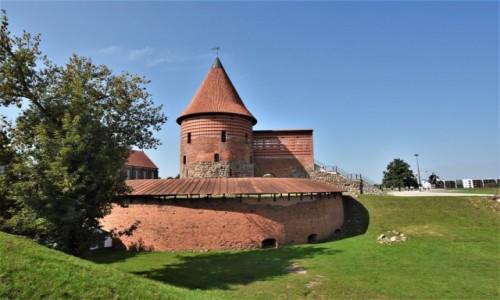 LITWA / Nizina Środkowolitewska / Kowno / Kowno, zamek