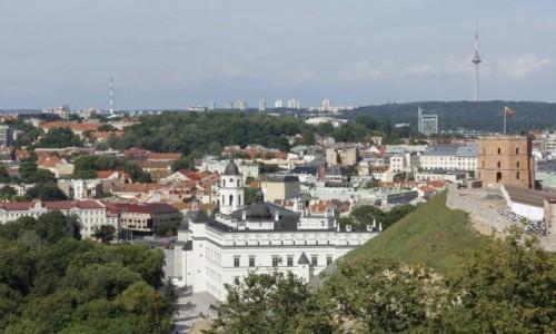 Zdjęcie LITWA / - / Wilno / Wilno - widok z Góry Trzykrzyskiej