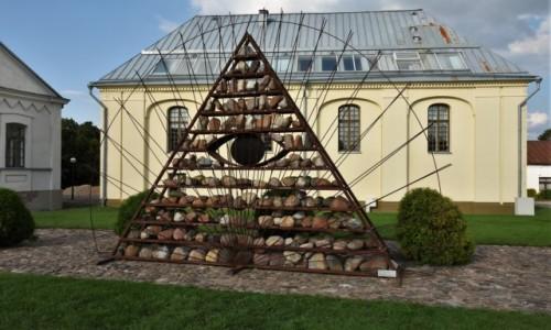 LITWA / Nizina Środkowolitewska / Kiejdany / Kiejdany, okolice synagogi