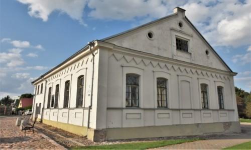 LITWA / Równina Środkowolitewska / Kiejdany / Kiejdany, nowa synagoga z XIX w.