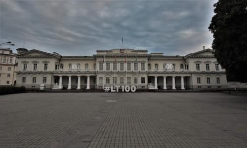 Zdjecie LITWA / Pojezierzu Wileńskim / Wilno / Wilno, pałac prezydencki
