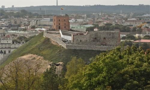 LITWA / Pojezierze Wileńskie / Wilno / Wilno, zamek