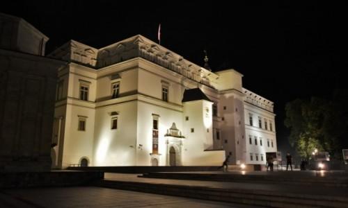 Zdjecie LITWA / Pojezierze Wileńskie / Wilno / Wilno, pałac wielkiego księcia