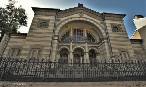 Zdjęcie LITWA / Pojezierze Wileńskie / Wilno / Wilno, synagoga wileńska