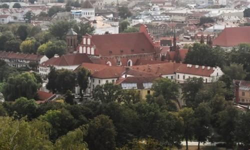 Zdjecie LITWA / Pojezierze Wileńskie / Wilno / Wilno, kościół Bernardynów