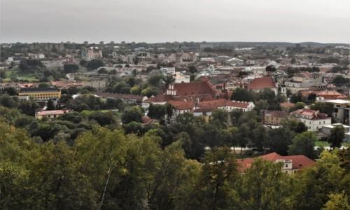 Zdjęcie LITWA / Pojezierze Wileńskie / Wilno / Wilno, kościół franciszkański