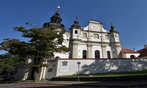 Zdjecie LITWA / Pojezierze Wileńskie / Wilno / Wilno, Kościół św. Michała i klasztor bernardynek