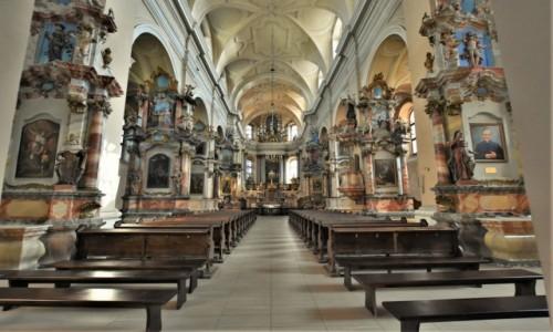 Zdjecie LITWA / Pojezierze Wileńskie / Wilno / Wilno, Kościół Wszystkich Świętych i klasztor karmelitów