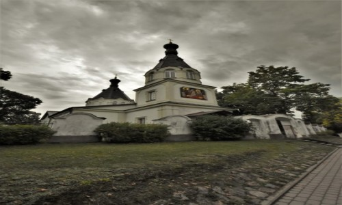 Zdjęcie LITWA / Pojezierze Wileńskie / Troki / Troki, cerkiew