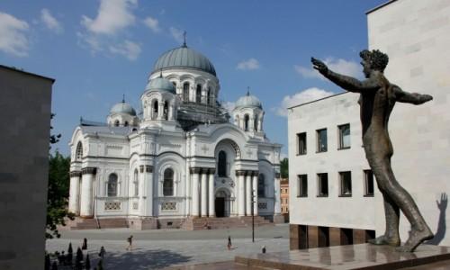 Zdjecie LITWA / - / Kowno / Kościół św. Michała Archanioła w Kownie