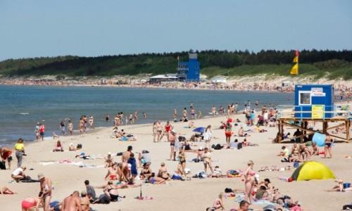 Zdjecie LITWA / - / Palanga / Plaża w Połądze